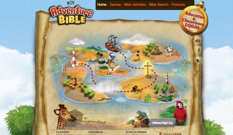 Adventure-Bible-Website