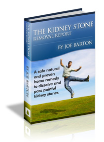 Kidney Stone Removal Ebook