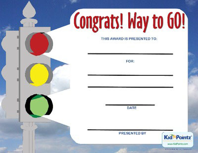 Free Congratulations Certificates for Kids Kid Pointz