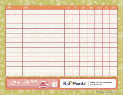 Sample Chore Chart Printable Chore Chart - sample chore chart