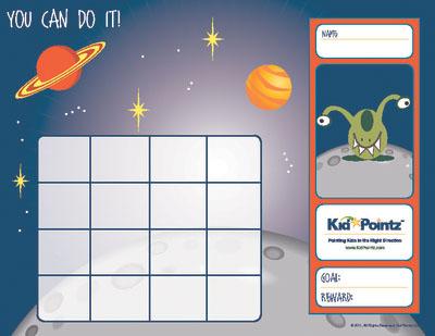Sticker Charts Kids Behavior Sticker Charts Kid Pointz - blank sticker chart