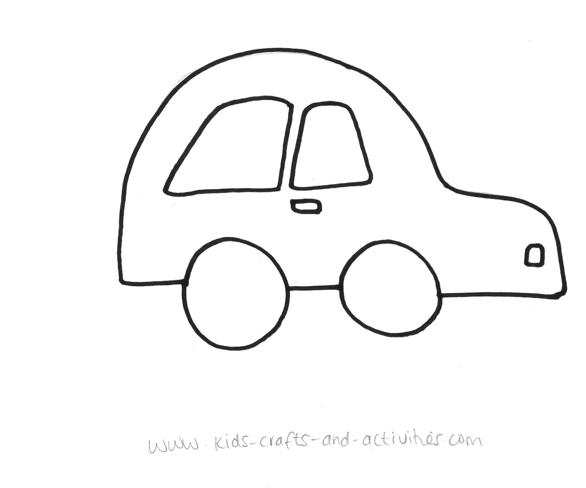 colouring in cars pictures