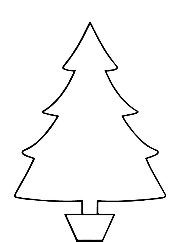 Kids N Funuk 12 Coloring Pages Of Christmas Trees To Decorate