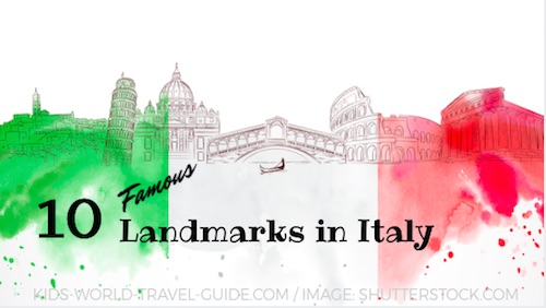 Italy Facts for Kids Italy for Kids People Geography Travel