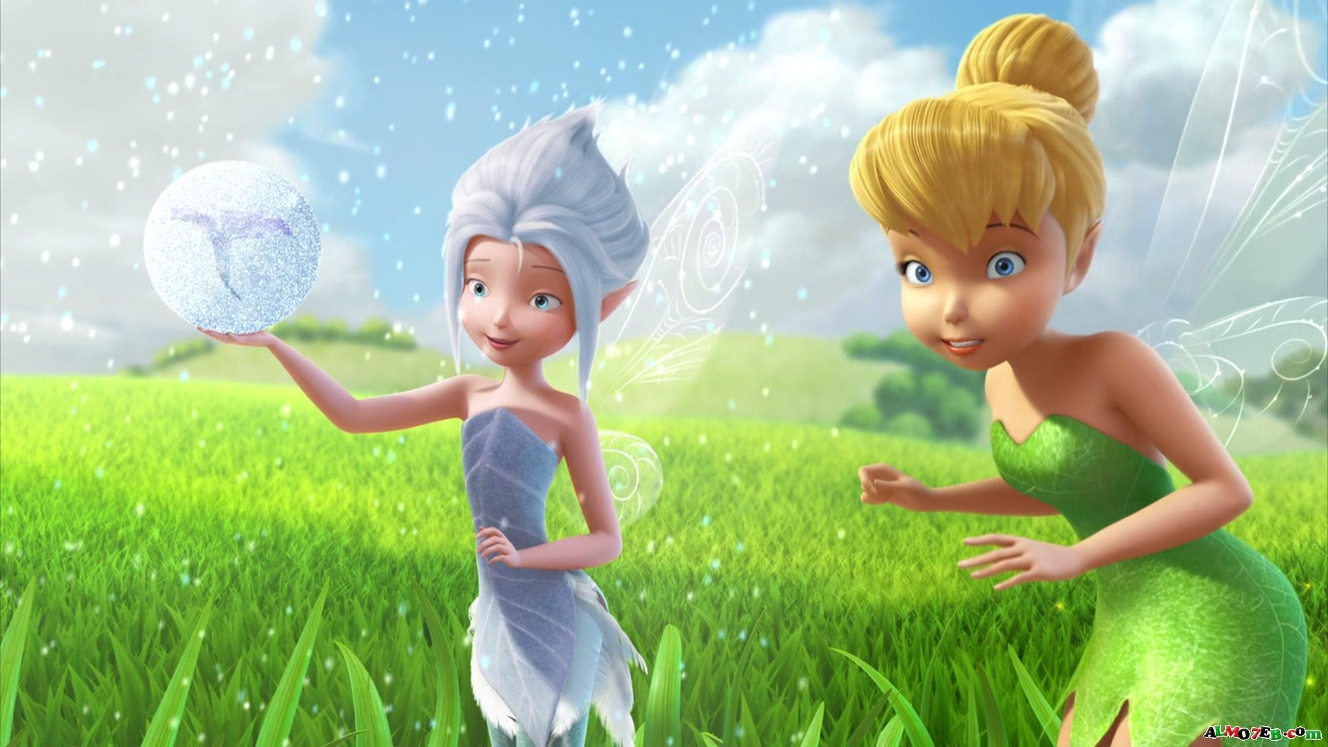 3d Tinkerbell Wallpaper صور خلفيات كرتونية من فلم الكرتون Tinker Bell 4 Backgrounds