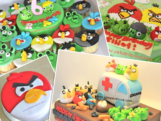 Angry Bird Cakes Kids and Parenting