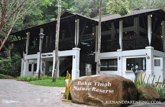 Bukit timah reserve visitor center