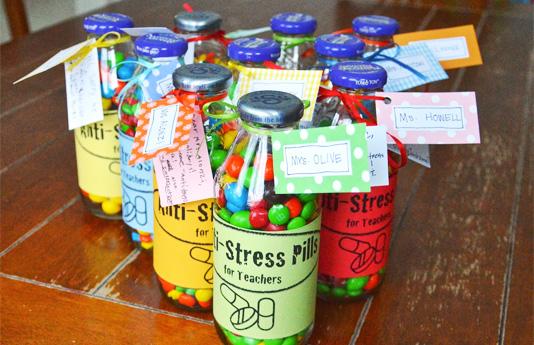 Stress Pills Bottles by ikatbag
