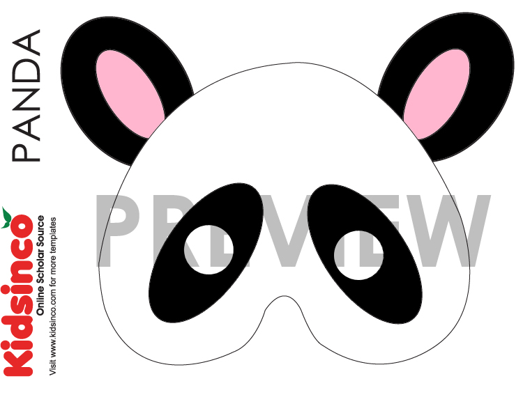Animal Masks Templates K I D S I N CO - Free Playscripts for Kids!