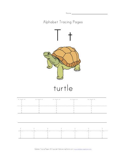 Letter T Worksheets Preschool | Sample Customer Service Resume