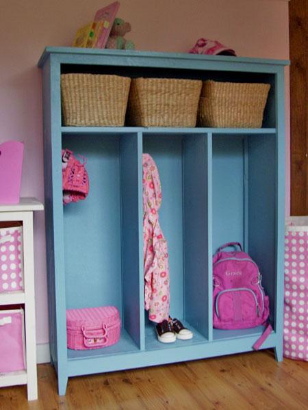 10 Ideas To Use Lockers As Kids Room Storage | Kidsomania