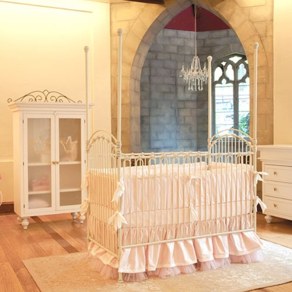 25 Iron Cribs Ideas For Your Kids Nursery Kidsomania