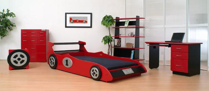Formula 1 One Race Car Wallpaper Bright 20 Car Shaped Beds For Cool Boys Room Designs Kidsomania