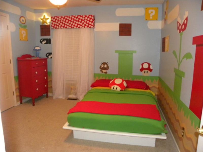 Super Mario Themed Room Design Home Design Jobs