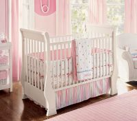 Nice Pink Bedding for Pretty Baby Girl Nursery from ...