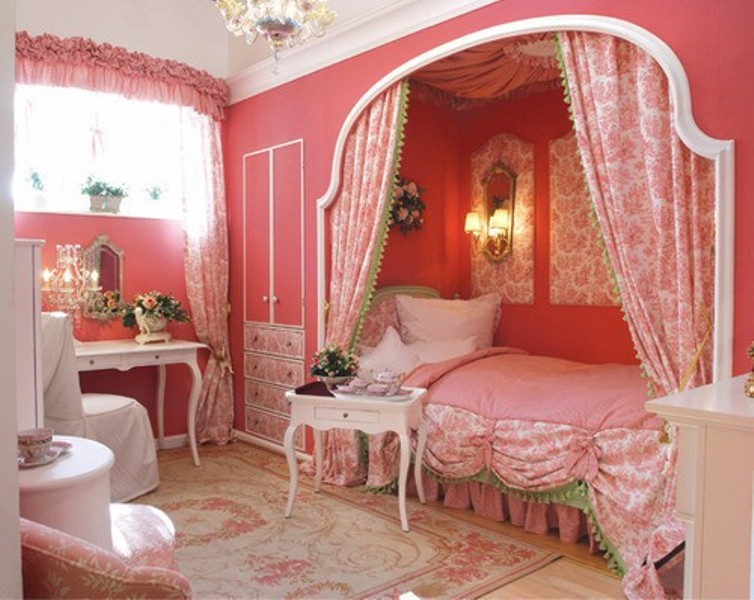 How To Create A Charming Girls Room In Paris Style