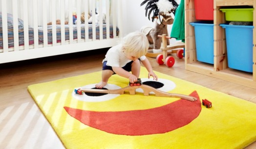 Colorful Kids Rooms Rugs With A Personality From Zugs
