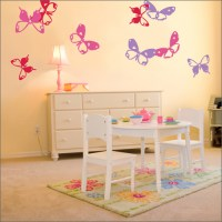 wall decals for girls room 2017 - Grasscloth Wallpaper