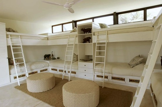 Awesome Bunk Room Storage | Kidspace Interiors