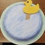 Duck in Pond Craft