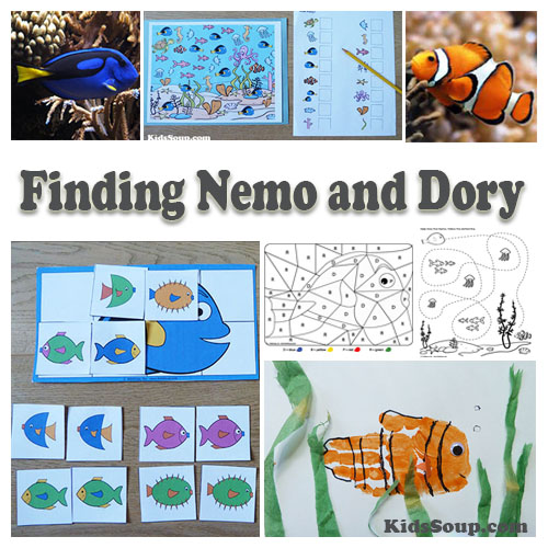 Ocean and Ocean Animals Activities, Lessons, and Crafts KidsSoup