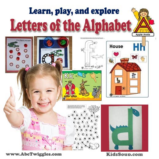 ABC Twiggles - Letters of the Alphabet Curriculum and Activities