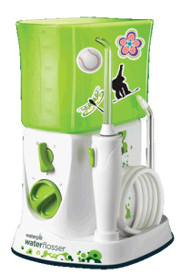 kidsumers the waterpik for kids is healthy and fun. Black Bedroom Furniture Sets. Home Design Ideas