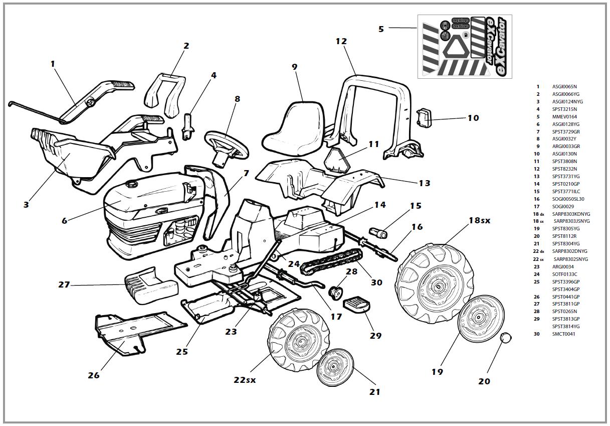 car body parts names diagram excavator parts diagram