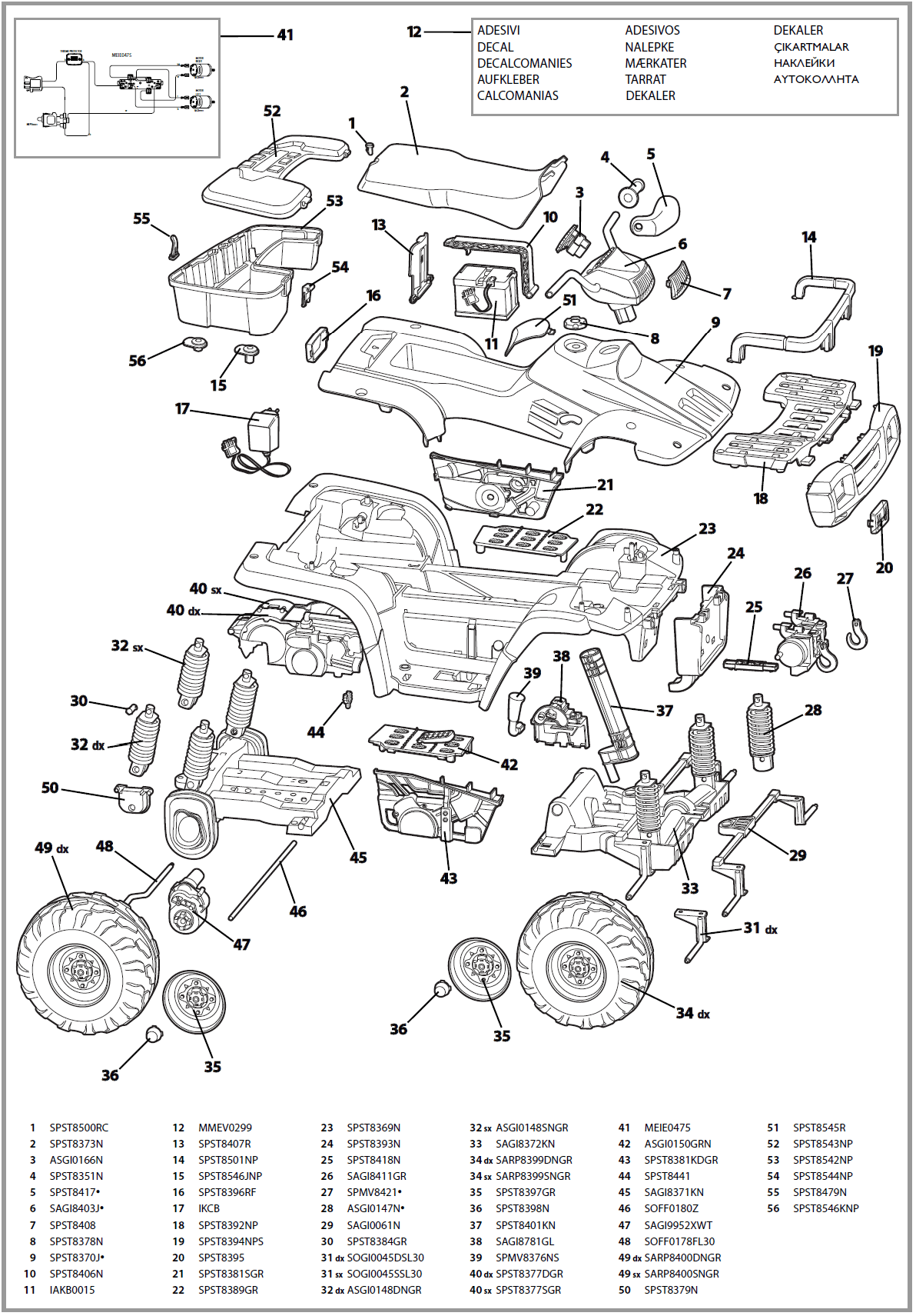 kymco quad wiring diagram