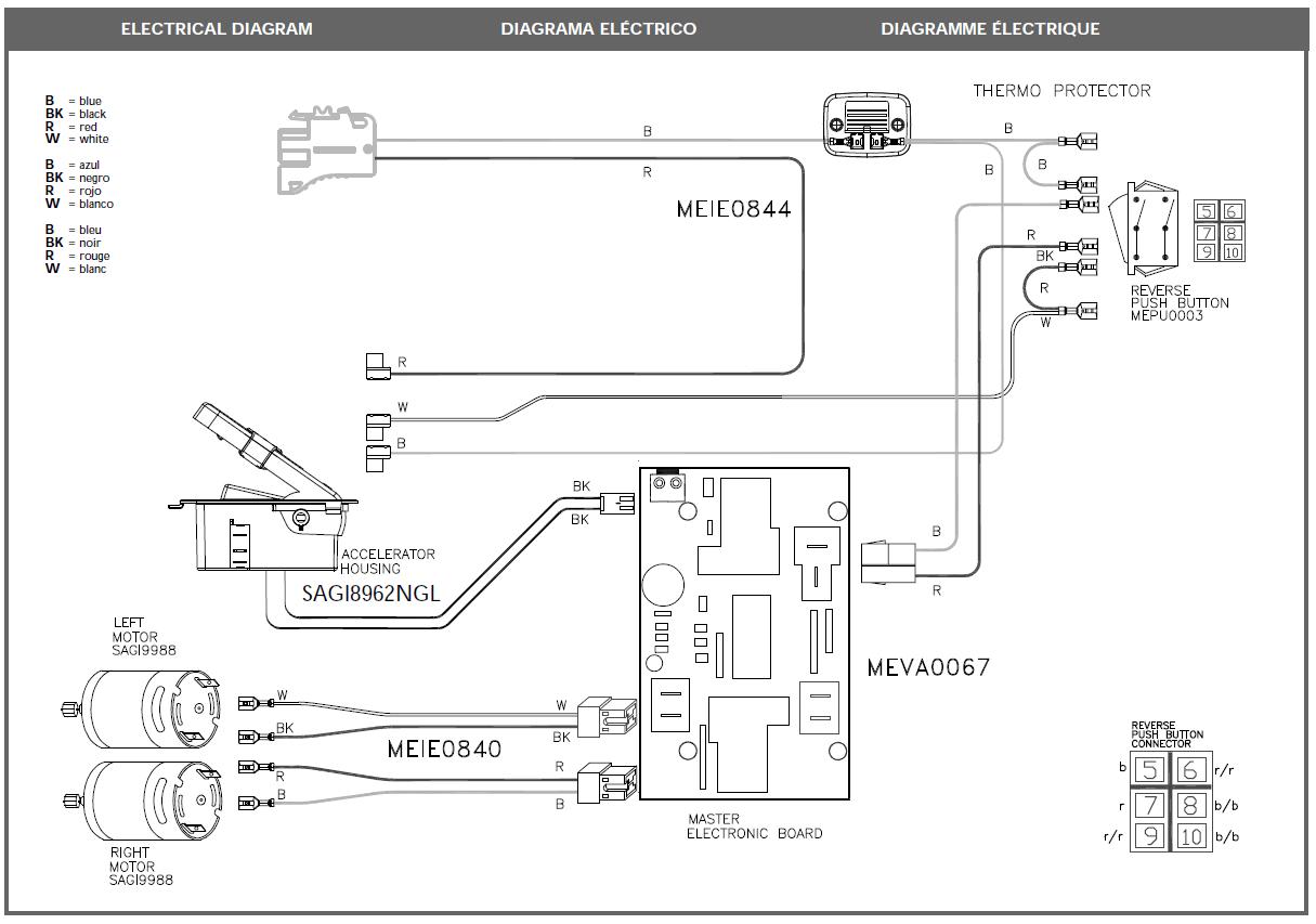 peg perego ranger wiring diagram