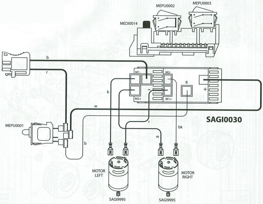 4 wire ledningsdiagram home
