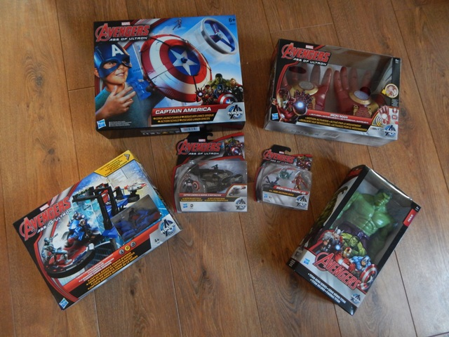 Hasbro Avengers Age Of Ultron Action Figures And Role Play