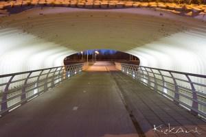 Fietstunnel bij de Blauwe Roos