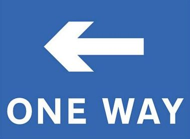 One Way - 001