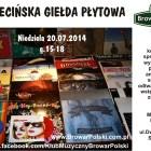 Szczecin, Szczecińska Giełda Płytowa, wstęp wolny, Browar Polski, w Szczecinie