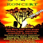 Szczecin, koncert, koncerty w Szczecinie, weekend w Szczecinie, Afrique Sogue, Free Blues Club, kierunek Szczecin, weekend w Szczecinie