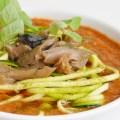 Sopa de tomate al aroma de tomillo y kombu