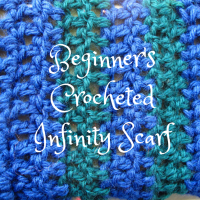 DIY: Beginner's Crocheted Infinity Scarf and Free Pattern
