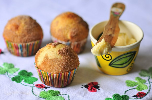Tea Cakes with Honey Butter recipe