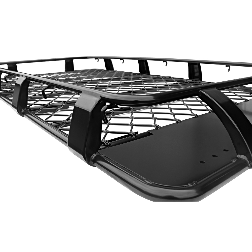 Roof Rack Alloy Landcrusier 80 Series Toyota 2200mm Gutter