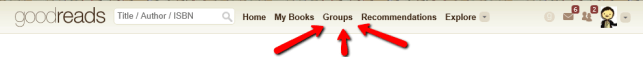 Click on the Groups button