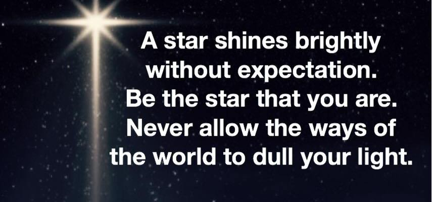 Be The Star You Are