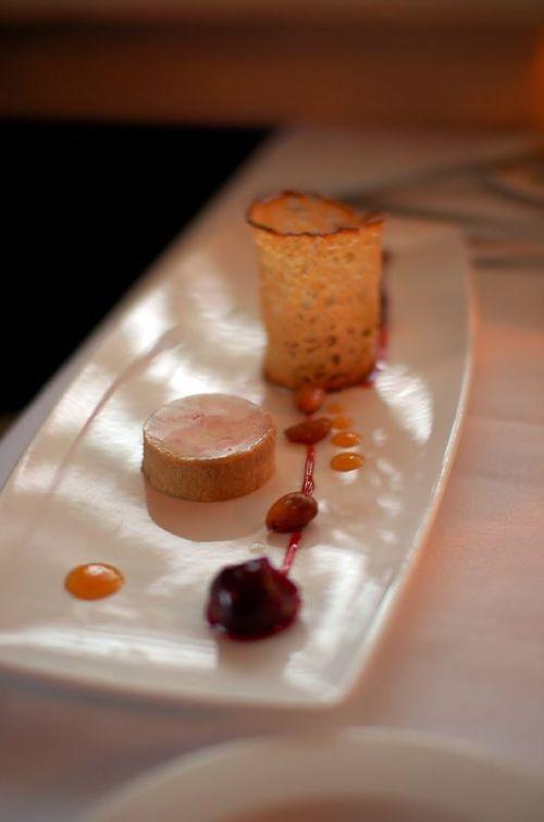 torchon de foie gras from bluestem