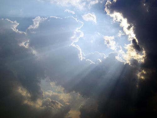 sun's rays