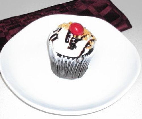 smallcakes hot fudge sundae cupcake