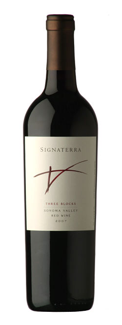 benziger family winery signaterra three blocks