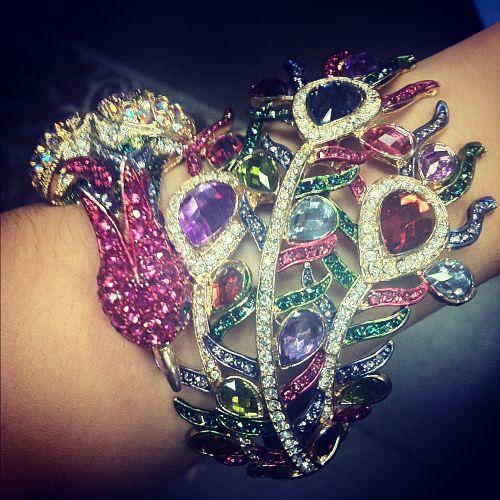 colorful peacock bracelet from inspire boutique olathe kansas
