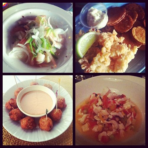 eat conch four ways in the bahamas
