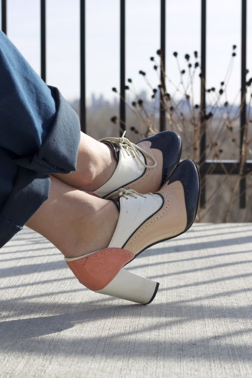 kimberlyloc forever 21 heeled oxfords