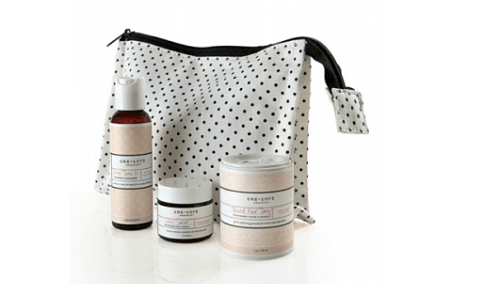 one love organics essentials to go travel kit